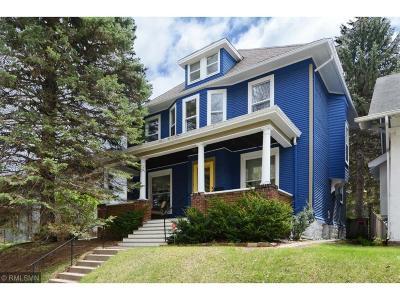 Saint Paul Single Family Home For Sale: 1016 Goodrich Avenue