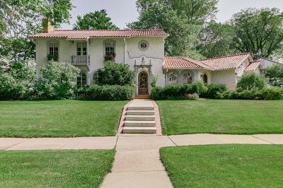 Edina Single Family Home For Sale: 4625 Wooddale Avenue