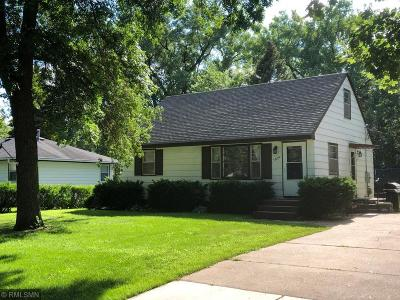 Crystal MN Single Family Home For Sale: $140,000