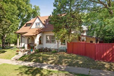 Saint Paul Single Family Home For Sale: 1095 Linwood Avenue