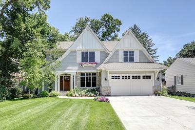 Edina Single Family Home For Sale: 5209 Wooddale Avenue