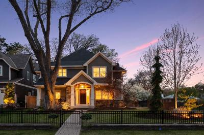 Edina Single Family Home For Sale: 5500 Kellogg Avenue
