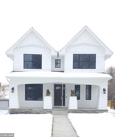 Minneapolis Single Family Home For Sale: 4321 S Abbott Avenue S