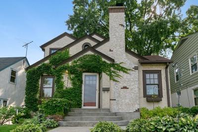 Minneapolis Single Family Home For Sale: 5333 Fremont Avenue S