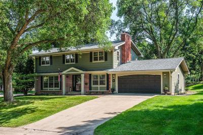 Edina Single Family Home For Sale: 5601 Hillside Court
