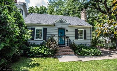 Edina Single Family Home For Sale: 4224 Scott Terrace