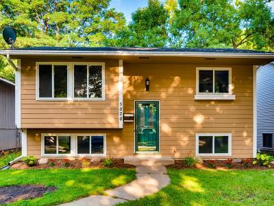 Minneapolis Single Family Home For Sale: 5828 Vincent Avenue S