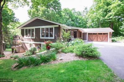 Sherburne County, Isanti County, Anoka County, Chisago County, Ramsey County, Wright County, Hennepin County, Mille Lacs County, Kanabec County, Washington County Single Family Home For Sale: 2152 Cottonwood Trail