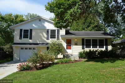 Edina Single Family Home For Sale: 6628 Ridgeview Drive