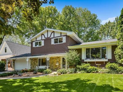 Edina Single Family Home For Sale: 4104 Lynn Avenue
