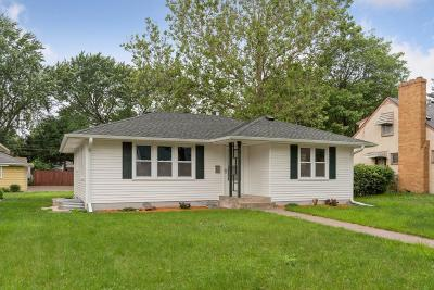 Minneapolis Single Family Home For Sale: 5107 Aldrich Avenue N