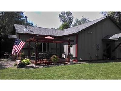 Isanti Single Family Home For Sale: 27373 Bay Shore Drive NW