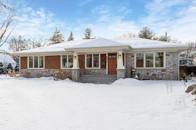 Edina Single Family Home For Sale: 4024 Grimes Avenue S