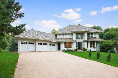 Edina Single Family Home For Sale: 6736 Indian Way W