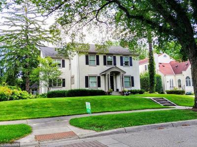Edina Single Family Home For Sale: 4637 Arden Avenue