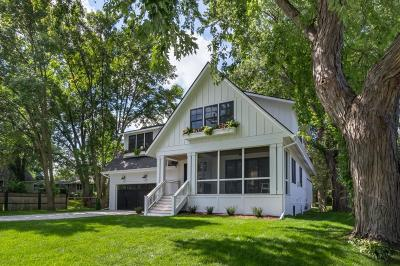 Edina Single Family Home For Sale: 4124 Grimes Avenue S