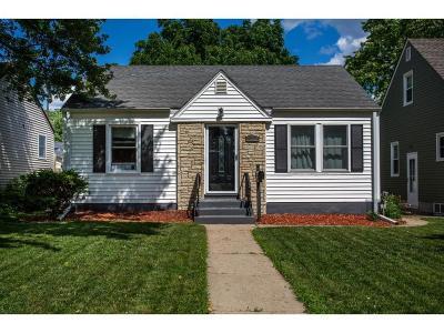 Saint Louis Park Single Family Home For Sale: 4129 Utica Avenue S