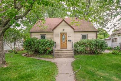 White Bear Lake Single Family Home For Sale: 4778 Wood Avenue
