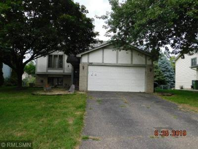 Coon Rapids Single Family Home For Sale: 645 107th Lane NW
