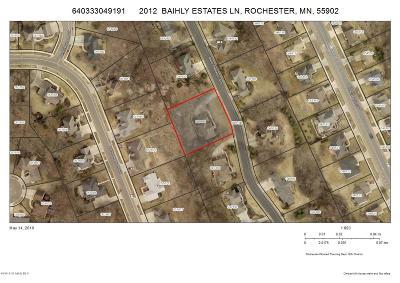 Rochester Single Family Home For Sale: 2012 Baihly Estates Lane SW