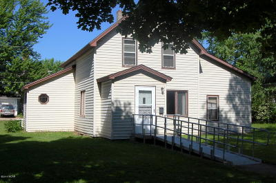 Clara City, Montevideo, Dawson, Madison, Marshall, Appleton Single Family Home For Sale: 111 S 4th Street