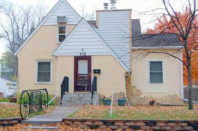 Montevideo Single Family Home For Sale: 216 S 5th Street