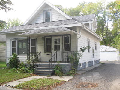 Willmar MN Single Family Home Sold: $72,500