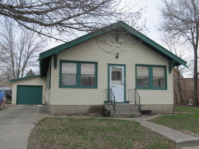 Wood Lake Single Family Home For Sale: 99 S 4th Street