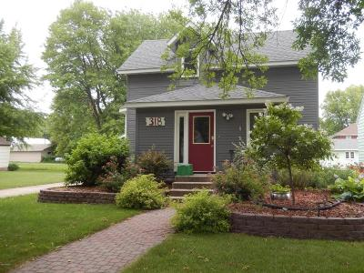 Clara City MN Single Family Home Sold: $83,000