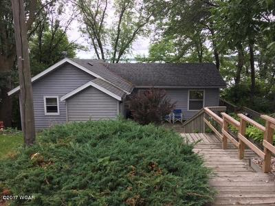 Willmar Single Family Home For Sale: 3832 N Eagle Lake Road