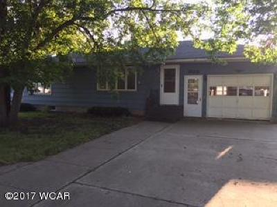 Clara City Single Family Home For Sale: 623 N Division Street N