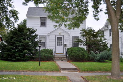 Clara City, Montevideo, Dawson, Madison, Marshall, Appleton Single Family Home For Sale: 212 N 10th Street