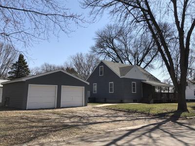 Clara City Single Family Home For Sale: 510 3rd Street NE