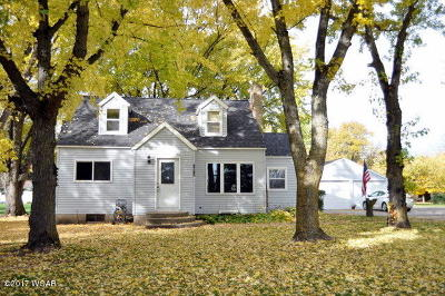 Single Family Home For Sale: 1617 Benson Road