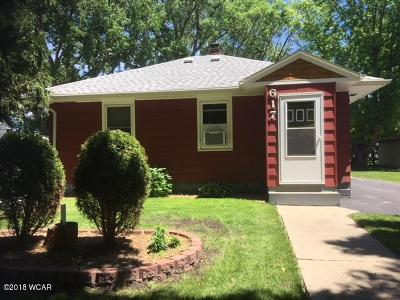 Willmar Single Family Home For Sale: 617 SW 14th Street