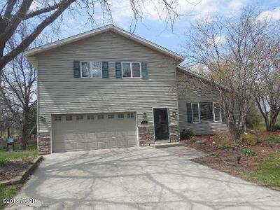 Willmar Single Family Home For Sale: 2790 Fairway Drive NE