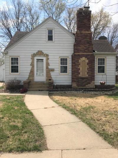 Willmar Single Family Home For Sale: 308 Trott Avenue SE