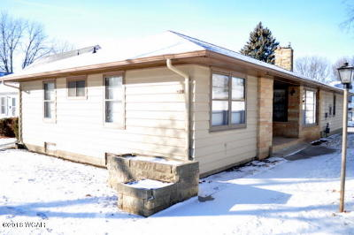 Clara City, Montevideo, Dawson, Madison, Marshall, Appleton Single Family Home For Sale: 413 N 7th Street