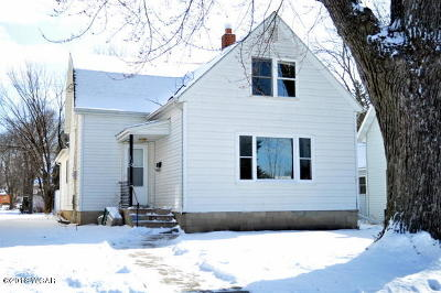 Clara City, Montevideo, Dawson, Madison, Marshall, Appleton Single Family Home For Sale: 110 S 5th Street