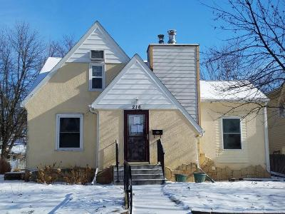 Montevideo Single Family Home For Sale: 216 S 5 Street