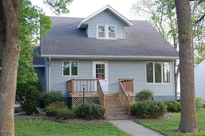 Wood Lake Single Family Home For Sale: One 1 St Avenue S