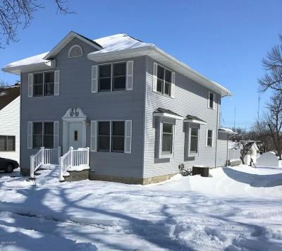 Clara City Single Family Home For Sale: 222 3rd Street NE