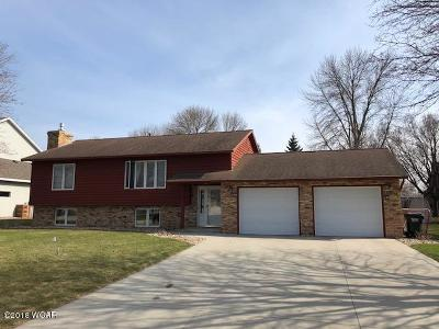 Willmar Single Family Home For Sale: 2705 14th Avenue NW