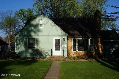 Benson Single Family Home For Sale: 705 11th Street S
