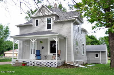 Clara City, Montevideo, Dawson, Madison, Marshall, Appleton Single Family Home For Sale: 620 N 4th Street