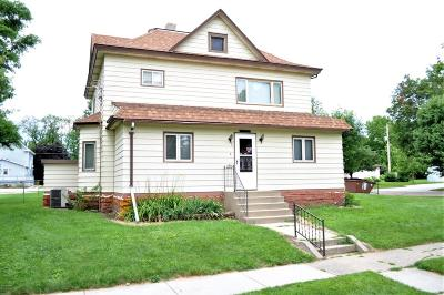 Clara City, Montevideo, Dawson, Madison, Marshall, Appleton Single Family Home For Sale: 321 Western Avenue