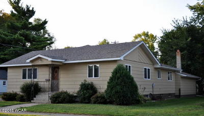 Clara City, Montevideo, Dawson, Madison, Marshall, Appleton Single Family Home For Sale: 407 Black Oak Ave