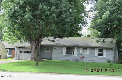 Willmar Single Family Home For Sale: 609 19 Avenue SW