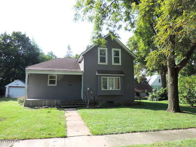 Willmar Single Family Home For Sale: 1013 Lake Avenue NW