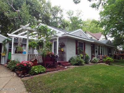 Willmar Single Family Home For Sale: 1124 Olaf Avenue NW